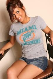 Briana Lee Miami Dolphins Fan - Picture 2